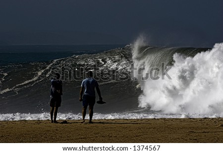 Storming day - stock photo
