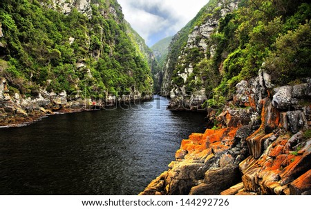 Storms River -  Eastern Cape, South Africa - stock photo