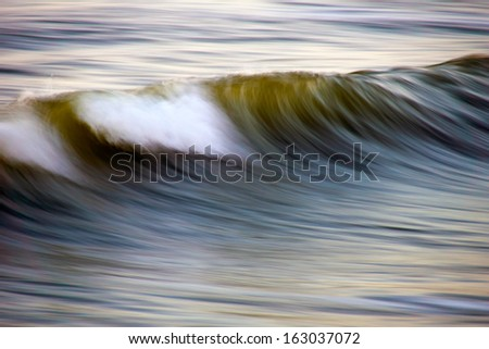 stormy North sea background - stock photo