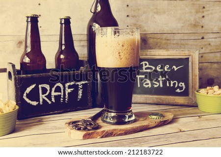 Stout - stock photo