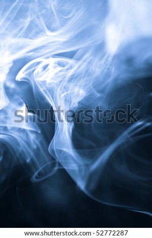 strangely shaped puff of smoke