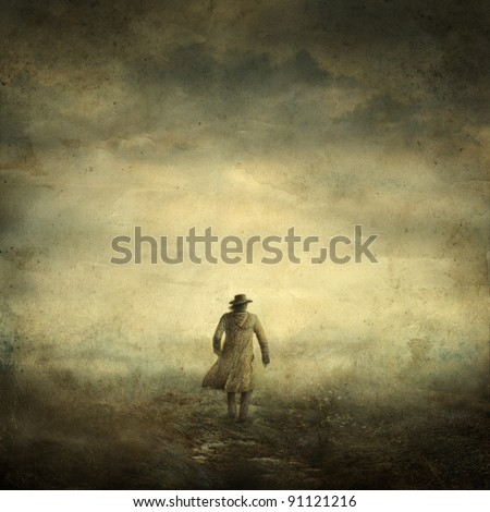Stranger - stock photo