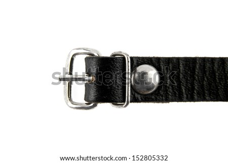 strap on a white background - stock photo