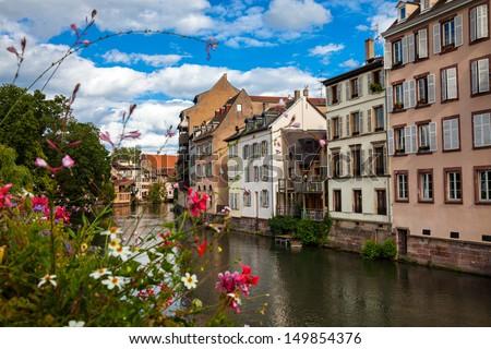 Strasbourg - Little France - stock photo