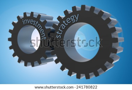Strategic investment as a process - stock photo