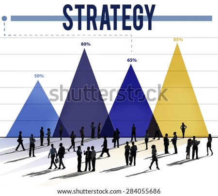 Strategy Guidelines Mission Development Planning Concept - stock photo