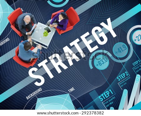 Strategy Planning Vision Growth Success Concept - stock photo