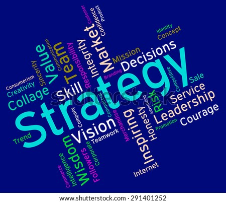 Strategy Words Indicating Strategic Solutions And Planning