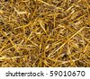 straw background - stock photo