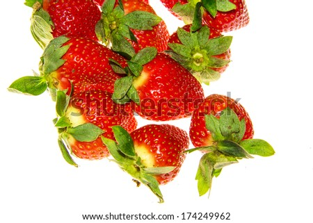 strawberry, a famous fruit in Spring Festival
