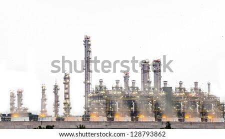 Stream power plant - stock photo