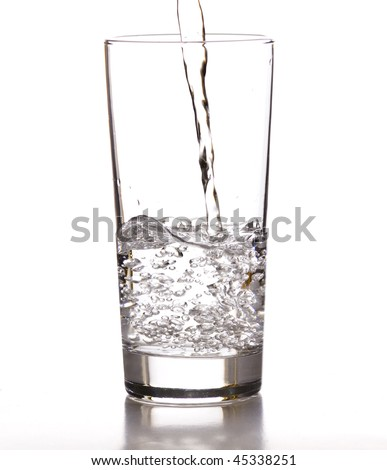 stream water - stock photo