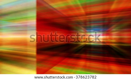 Streaming digital data abstraction 10789 from a series of futuristic tech imagery. - stock photo