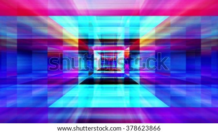 Streaming digital data abstraction 10787 from a series of futuristic tech imagery. - stock photo