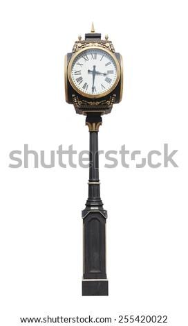 Street clock - stock photo