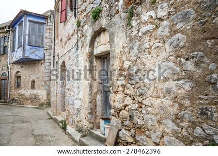 street in europe - stock photo