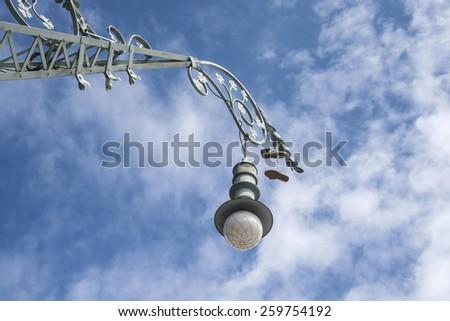 Street lamppost - stock photo