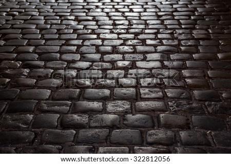 street pavement - stock photo
