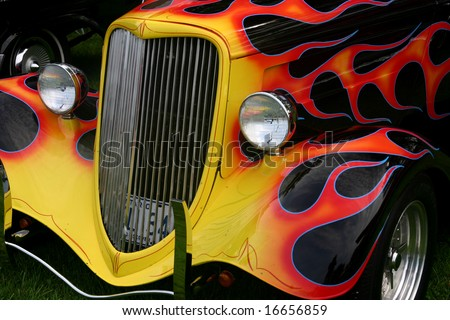 Hot Rod Flames Stock Images Royalty Free Images Vectors