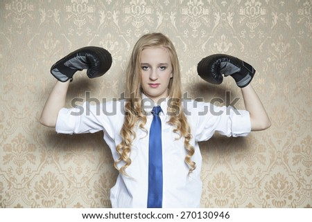 strength and endurance road to business success - stock photo