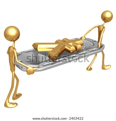 Stretcher Yen - stock photo