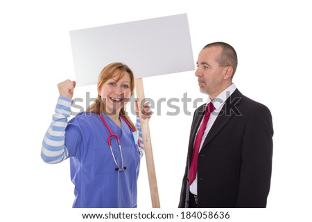 Striker is pleased about the victory - stock photo