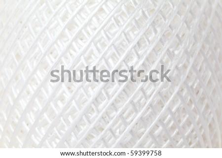 String made of nylon - stock photo