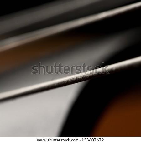 String of violin - stock photo