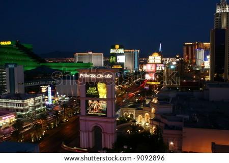 Strip in Las Vegas - stock photo