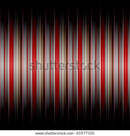 striped background  in many red and grey colors with a gradient shadow top and bottom - stock photo