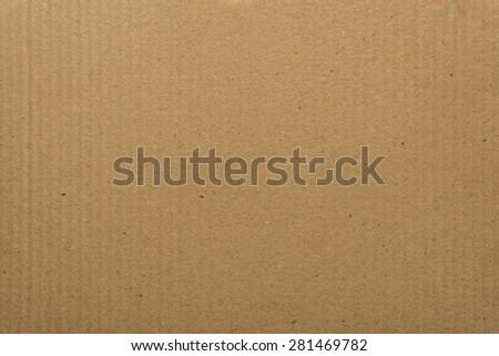 Striped cardboard background - stock photo