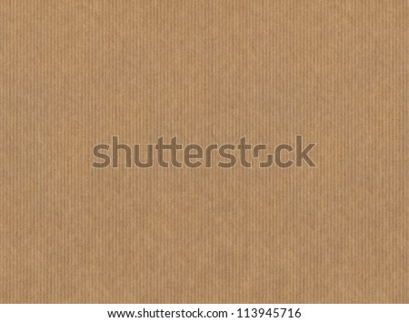 Striped craft paper texture - stock photo
