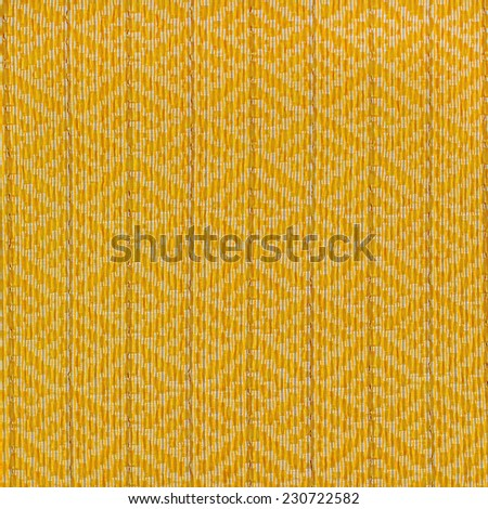 Striped fabric color Gold - stock photo
