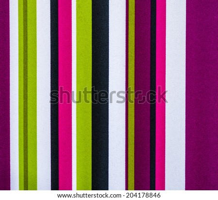 striped fabric texture colorful - stock photo