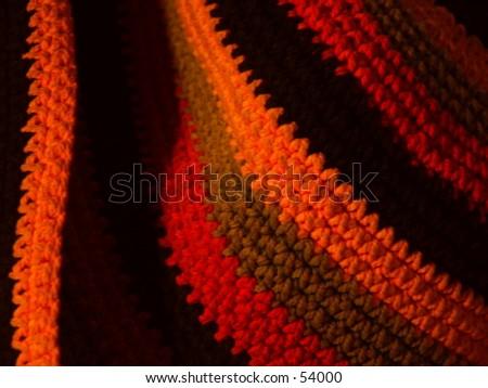 Striped hat - stock photo