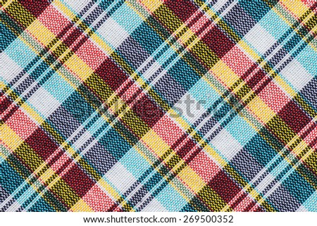 Striped loincloth fabric background - stock photo