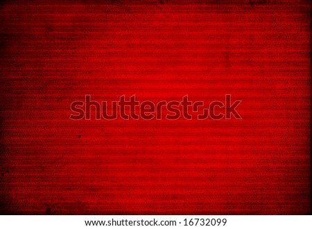 Striped red background - stock photo