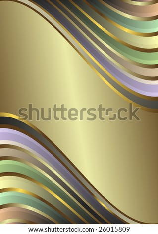 Stripes  frame with  place for the text. Raster. A vector variant look in my portfolio - stock photo
