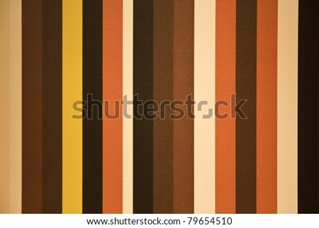 Stripes in  the style of the seventies