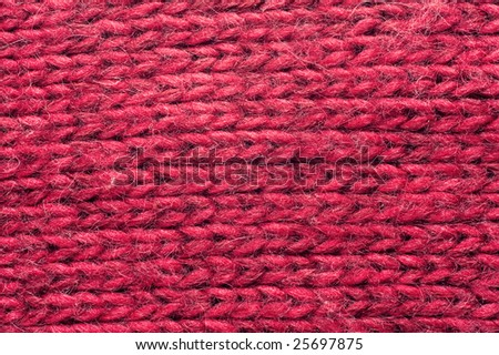 Structure of a knitted fabric. A photo close up. - stock photo