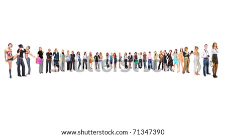 Structure Work Group - stock photo