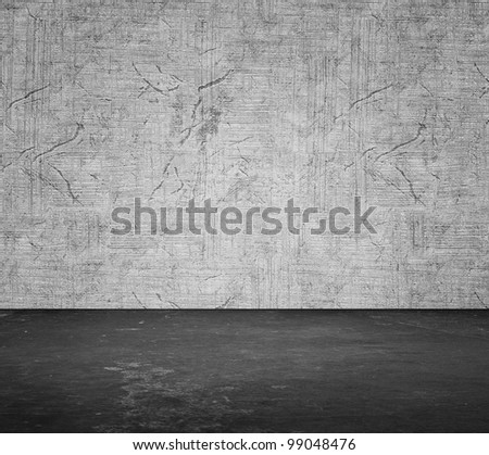 Stucco room. All textures my own - stock photo