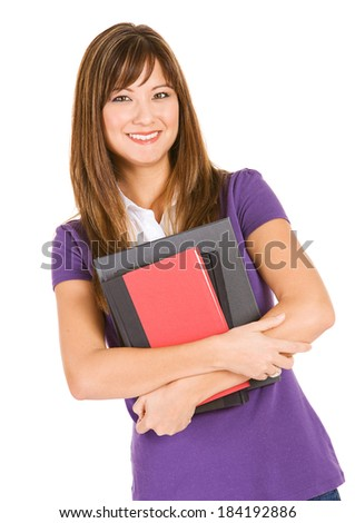 Student: Adult Student Carrying Books