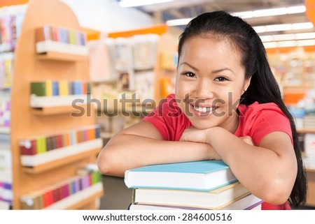 Student, Asian Ethnicity, University. - stock photo