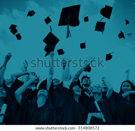 Student Celebration Education Graduation Happiness Concept