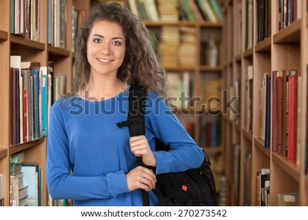Student, Latin American and Hispanic Ethnicity, University. - stock photo