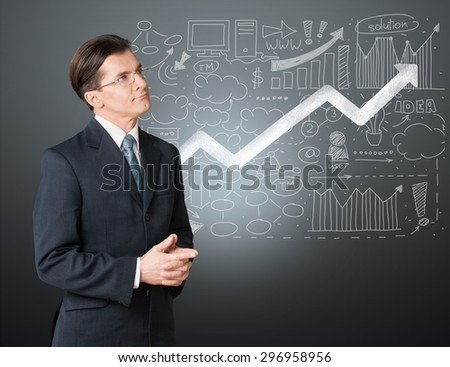 Student, math, teacher. - stock photo