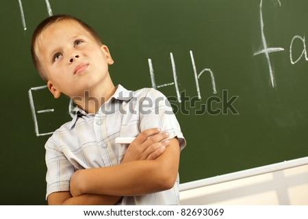 student meets the next job board - stock photo