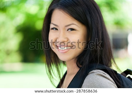 Student, Women, Young Adult. - stock photo