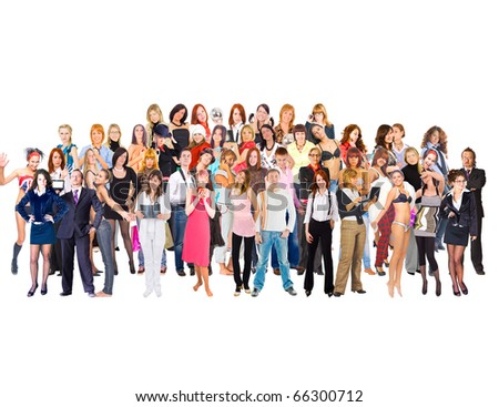 Students Group Business - stock photo